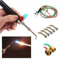 Perhiasan Alat Perbaikan Mikro Mini Praktis Gas Oksigen Asetilen Kecil Welding Solder dengan Selang Fleksibel Ukuran: 20*15*6 Cm