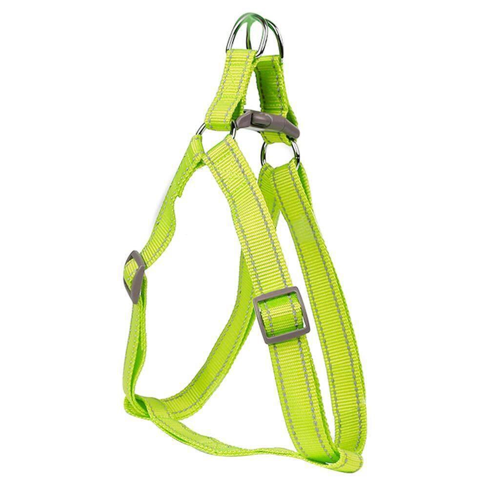 Jingot อุปกรณ์สำหรับสัตว์เลี้ยงปรับแรงจูงใจปลอกคอสุนัขไนลอน Night Safety Flashing สายจูงสุนัขโกลว์ (yellow, L, Nylon, Bagged) - Intl By Jingot.