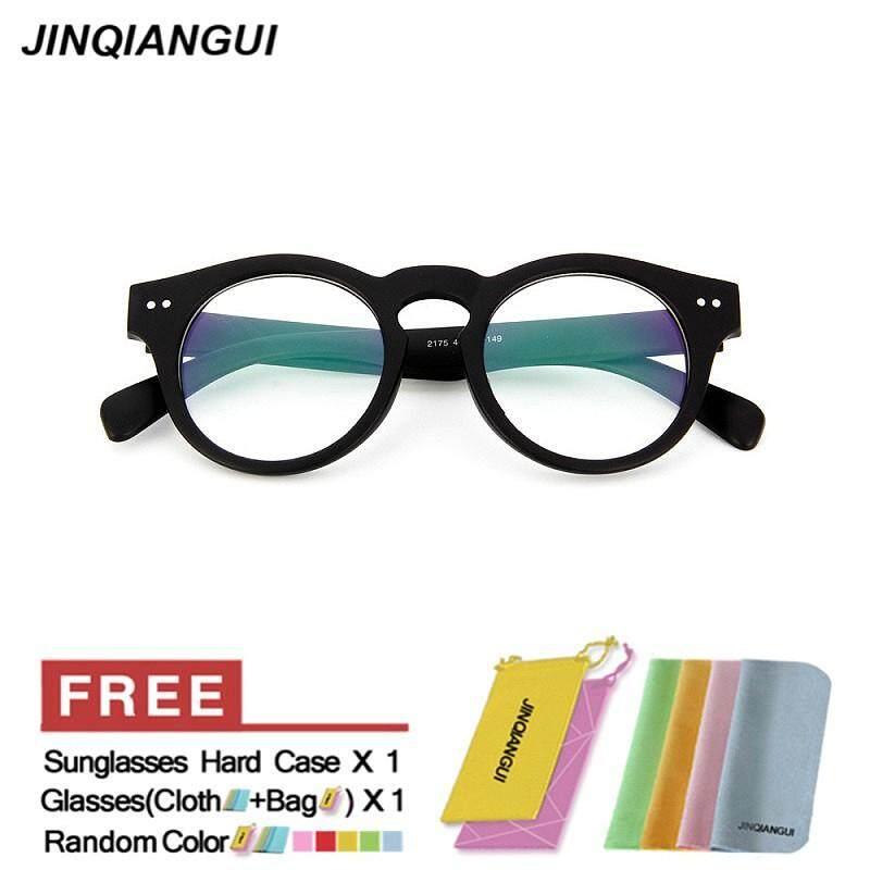 681600a5dd6 Bandingkan Jinqiangui Glasses Frame Men Round Retro Plastic Eyewear