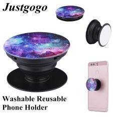 【clearance Sale】justgogo Phone Holder ,washable Reusable Gasbag Grip Expandable Stand For Mobile Phones F-15 By Justgogo.