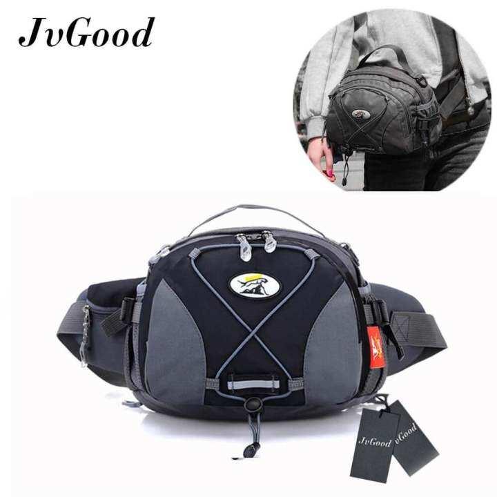 bde79072f0 JvGood Fanny Pack Waist Bag Travel Pocket Sling Chest Shoulder Bag Phone  Holder Running Belt With