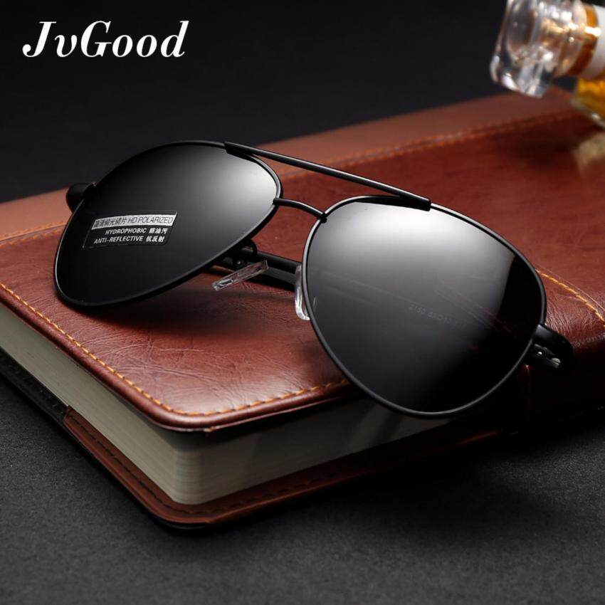 a3ce04e8cd0c JvGood Mens Womens Sunglasses Polarized with Accessories - UV 400  Protection Large Metal Frame for Outdoor