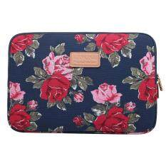 Kayond Laptop Sleeve Case 14 Inch Computer Bag, Notebook,for Ipad,tablet,for Macbook(blue Peony) By Jonesmayer.