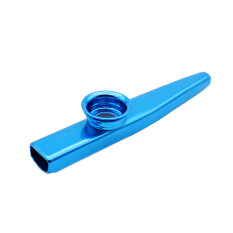Kazoo Aluminum Alloy Metal With 5pcs Flute Diaphragm Gift For Kids Music Lovers By Tomtop.