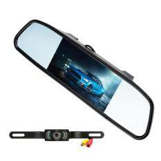 Kelima-061 Car Rear View Camera + Display Set - Black By Extreme Deals.