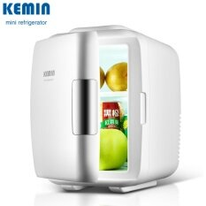 Kemin 4l Mini Fridge Small Household Refrigerator Refrigeration Cooling And Heating Dual-Purpose Use At Car Or Home(white) By Mubai Trading.