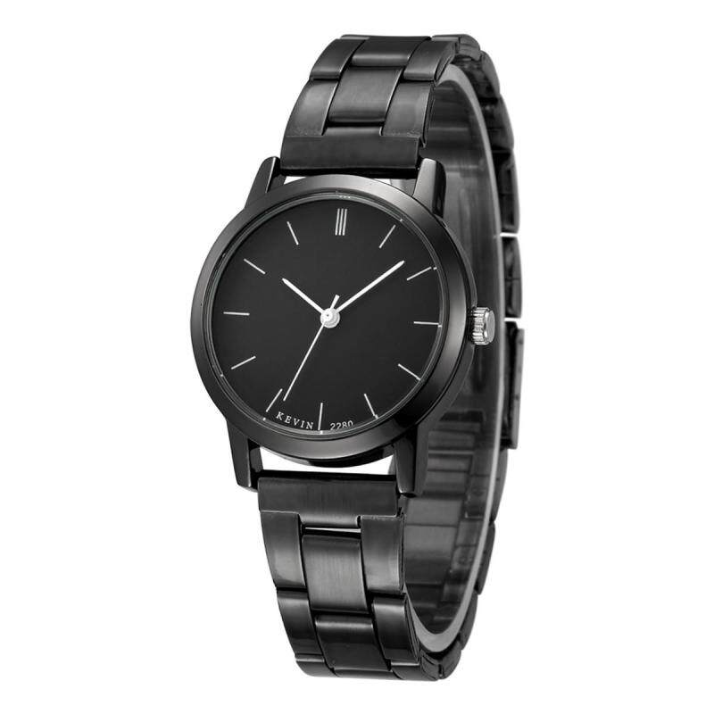 Kevin 2280 Couple Black Striped Watch Quartz Watch - Blackface Small Malaysia