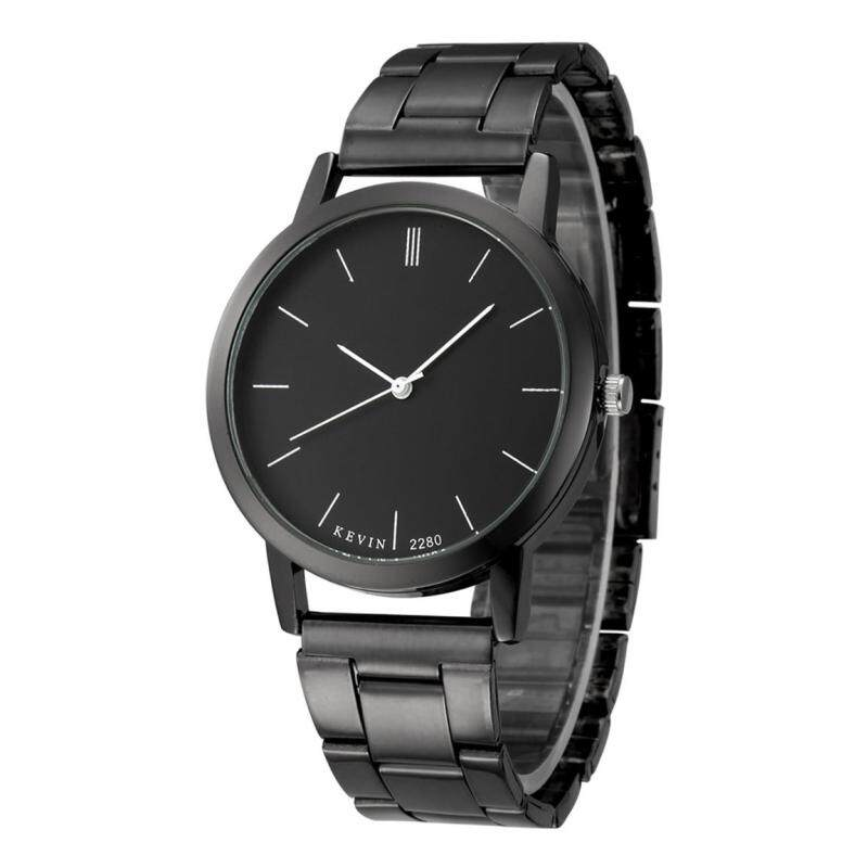 Kevin 2280 Couple Lovers Watches Mens Quartz Steel Strip Watches Black Malaysia