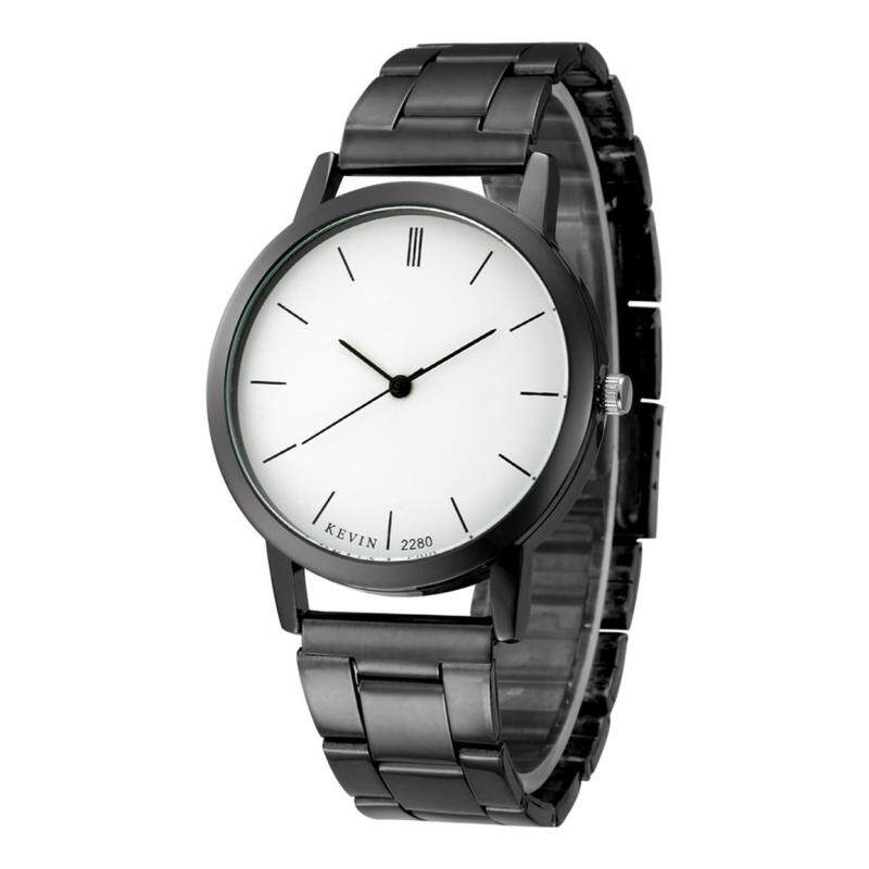 Kevin 2280 Couple Lovers Watches Mens Quartz Steel Strip Watches White Malaysia