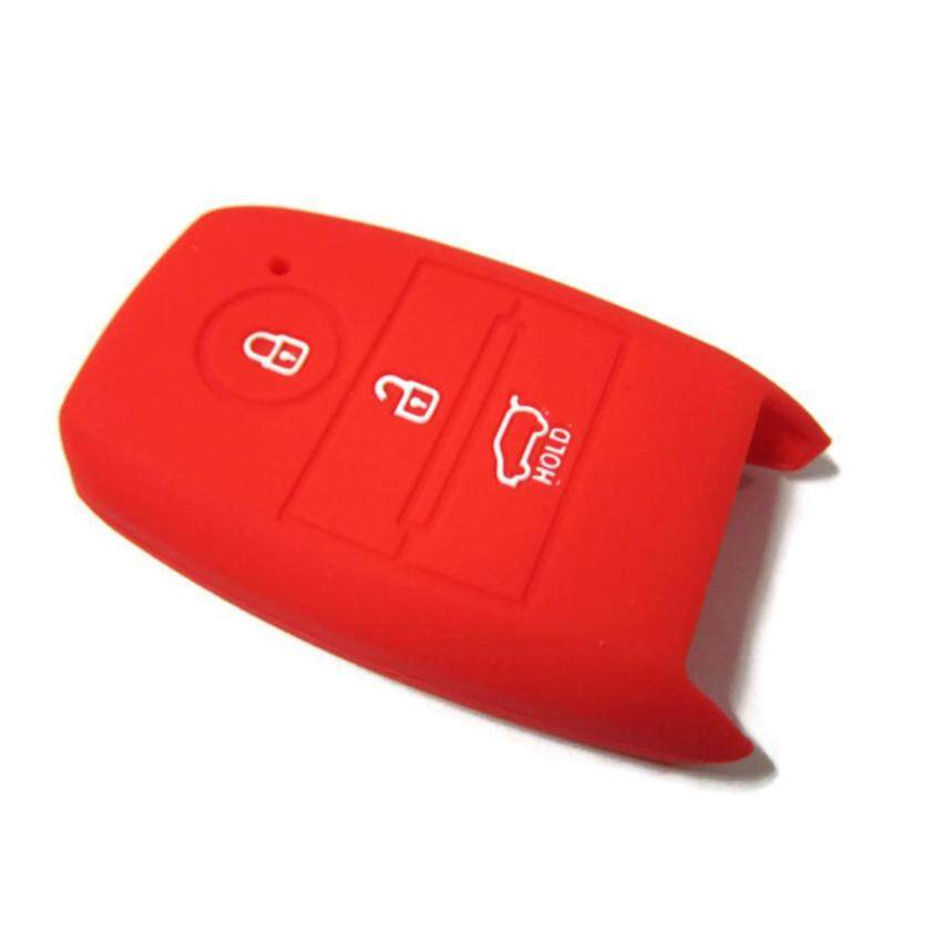KIA Cerato K3 Optoma K5 Picanto Keyless Remote Silicone Car Key Cover Case (Red)