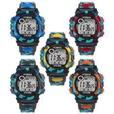 Kids Camo Digital Watches Fashion LED Watch Wristwatch Waterproof Sports Gifts Malaysia