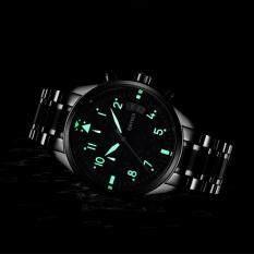 KINYUED Swiss Multi-functional Personalized Mens Watch Black Waterproof Movement Luminous Watch Malaysia