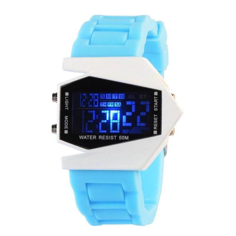 Kobwa Unique Design LED Sports Watch Fashion Waterproof Electronic Watch Men Digital Wrist Watch Malaysia