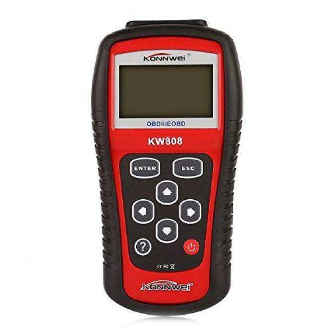 KONNWEI X005 KW808 OBDII/EOBD Code Reader and Auto Scanner OBD2 - intl