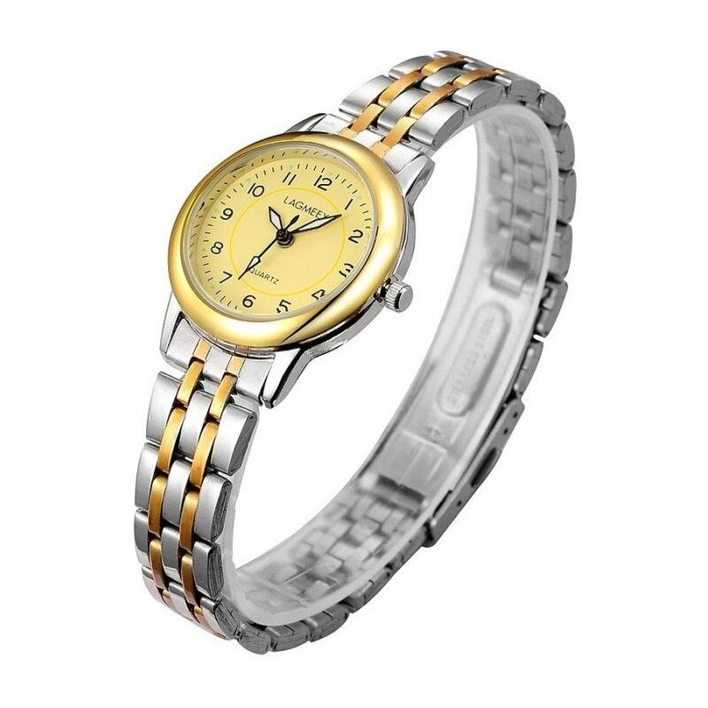 LAGMEEY Premium Watch with Gold Dial G38  + Free Watch Box Malaysia