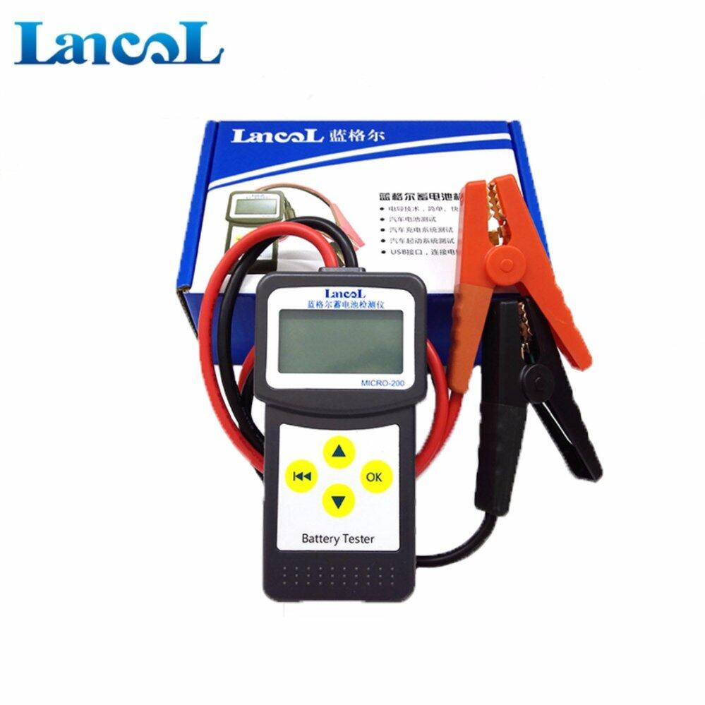 Battery Testers Buy At Best Price In Malaysia Led Circuit Tester For Automotive Household Use 12v Car Lancol Micro 200 With Usb Printing Cheap 30