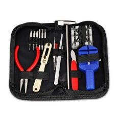 langley KW01 Multifunction Watch Tool Fix Kit Pin Set Watch Case Opener Bracelet Link Repair Tool Remover Screwdriver Tweezer For Watchmaker Malaysia