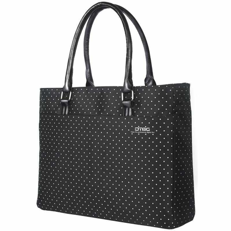 JoyFun Laptop Tote Bag, DTBG 15.6 inch Women Shoulder Bag Nylon Briefcase Casual Handbag Laptop