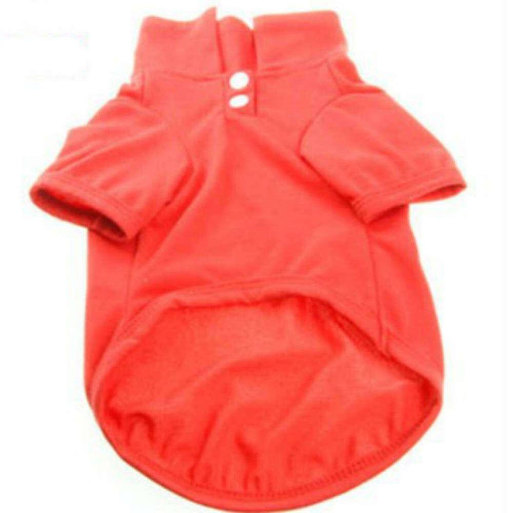 Lemon Xxl Summer Cotton Pet Dog Clothes Leisure Clothing Polo ShirtForteddy  Poodle Bichon Hiromi (Red f7a7e1029c