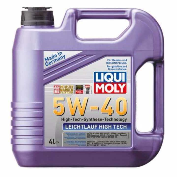 liqui moly fully synthetic engine oil leichtlauf high tech. Black Bedroom Furniture Sets. Home Design Ideas