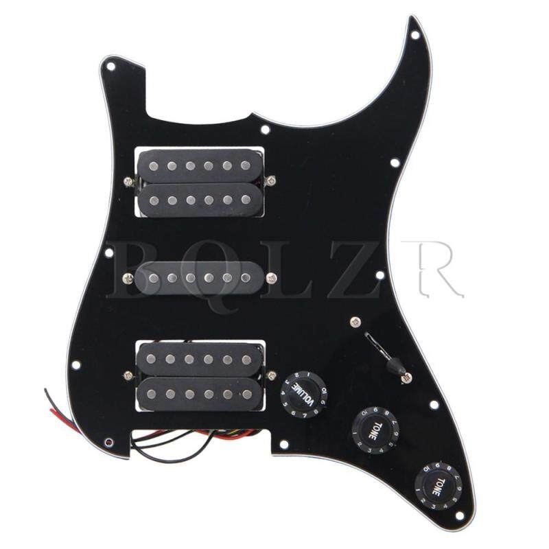 Loaded Pickguard HSH For Guitar (Black) Malaysia