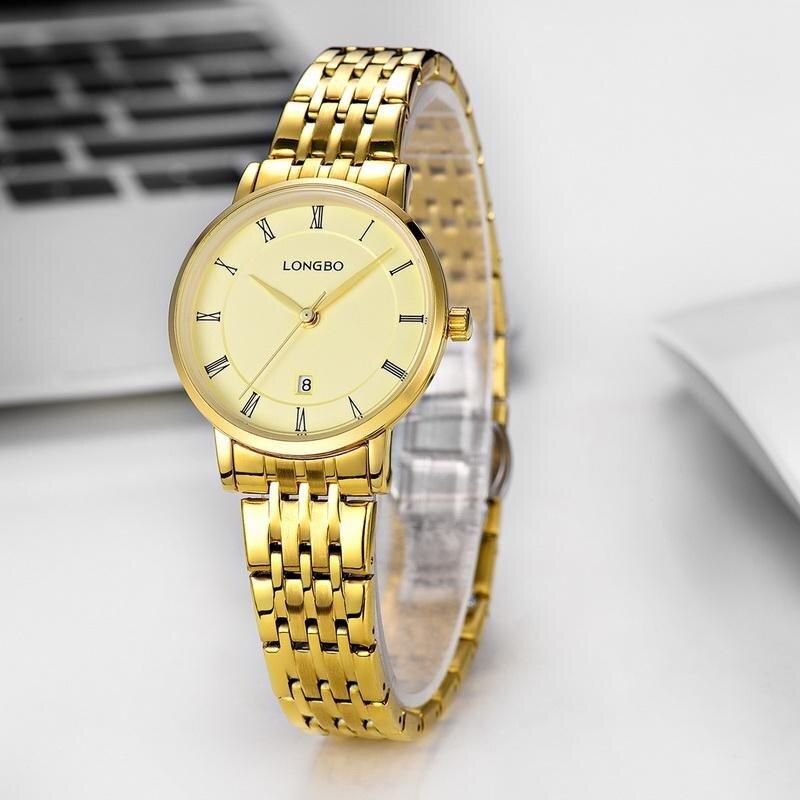RISTOS Casual Business Diamond Casual Watch Steel Watchband Japanese Quartz Movement Analog Wristwatch Clock Calendar Women Watch 5091 Malaysia