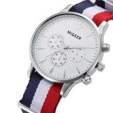 Luxury Fashion Canvas Mens Analog Watch Wrist Watches  Malaysia