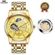 Luxury TEVISE Automatico Men Mechanical Watches Fashion Green Waterproof Sport Business wristwatch Male Clock Watch Malaysia