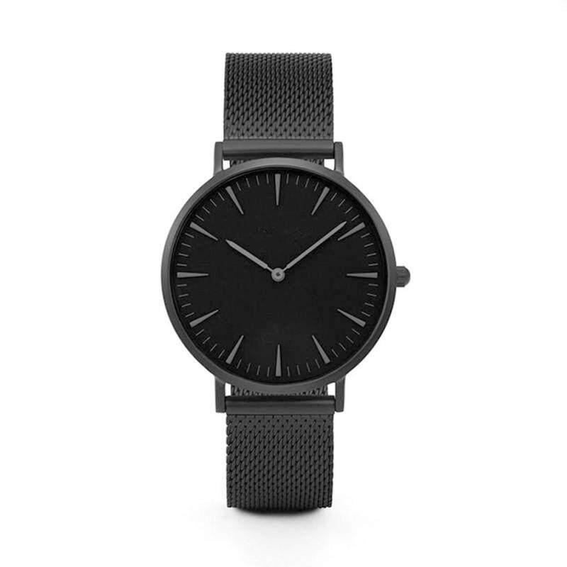 Luxury Women Men Stainless Steel Watch Analog Quartz Bracelet Wrist Watches New Malaysia