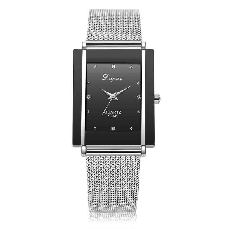 LVPAI Watches Women Quartz Wristwatch Clock Ladies Dress Gift Watches Black Malaysia