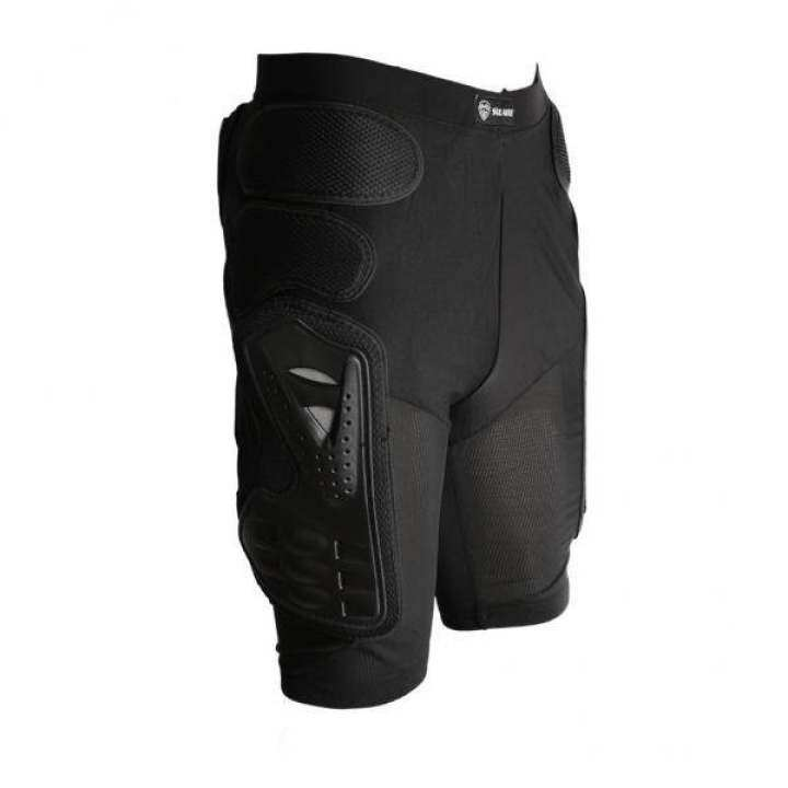 MagiDeal Motorcycle Bike Padded Hip Protector Body Armour Cycle Shorts Black S