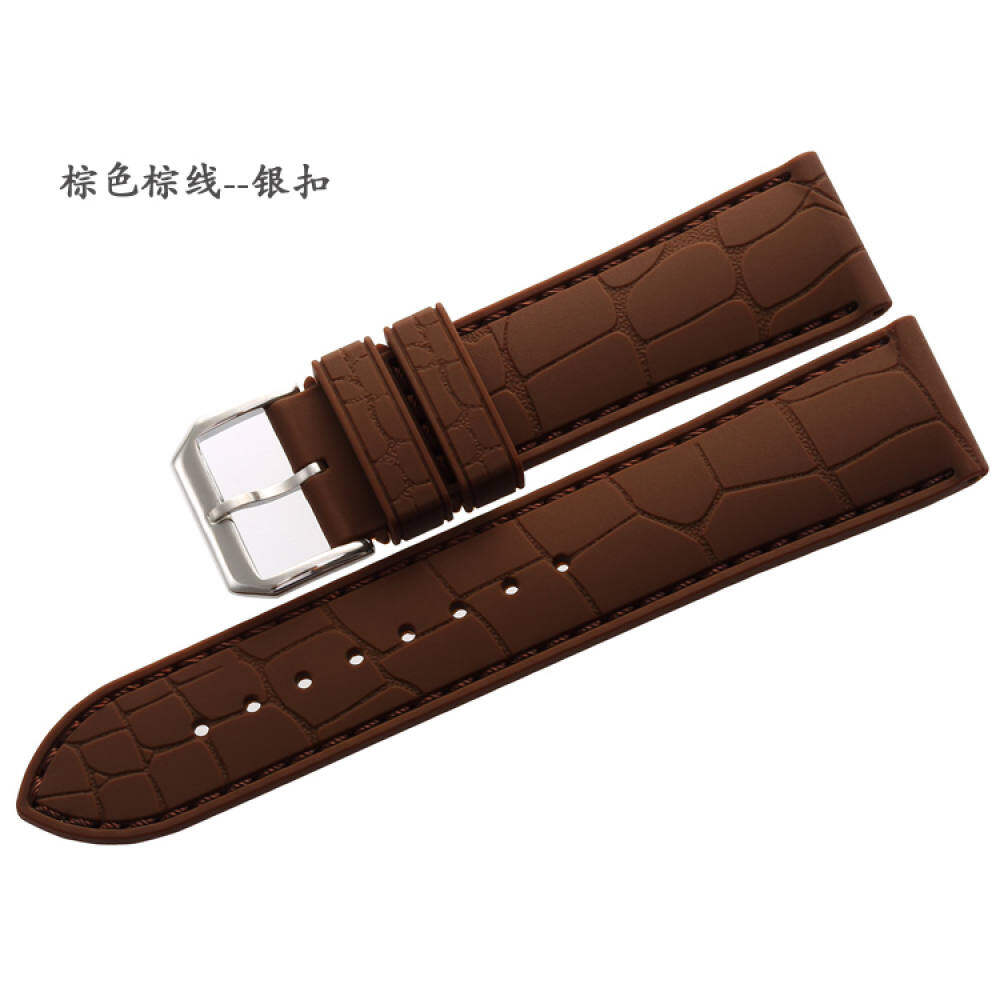 MAIKES 20mm/22mm Natural Rubber watch hand Waterproof strap men Malaysia
