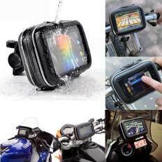 Makiyo For GARMIN NUVI Waterproof Motorcycle Handlebar Mount Holder Case Bag 5