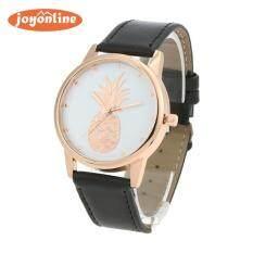 Men Fashion Fruit Pattern Casual Leather  Band Analog Quartz Wrist Watch Malaysia