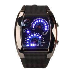 Men LED Backlight Military Digital Quartz Sports Wrist Watch Malaysia
