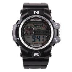 Men Quartz Digital Sports Watches Military Silicone Waterproof Wristwatche Malaysia