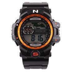 Men Quartz Digital Sports Watches Military Silicone Waterproof Wristwatche OR Malaysia