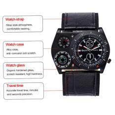 Men Watch Quartz Watch Military Sport Big Dial Compass Thermometer Malaysia