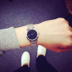 Men Women Korean Alloy Strap Quartz Watch Wristwatch(Big Case) Malaysia