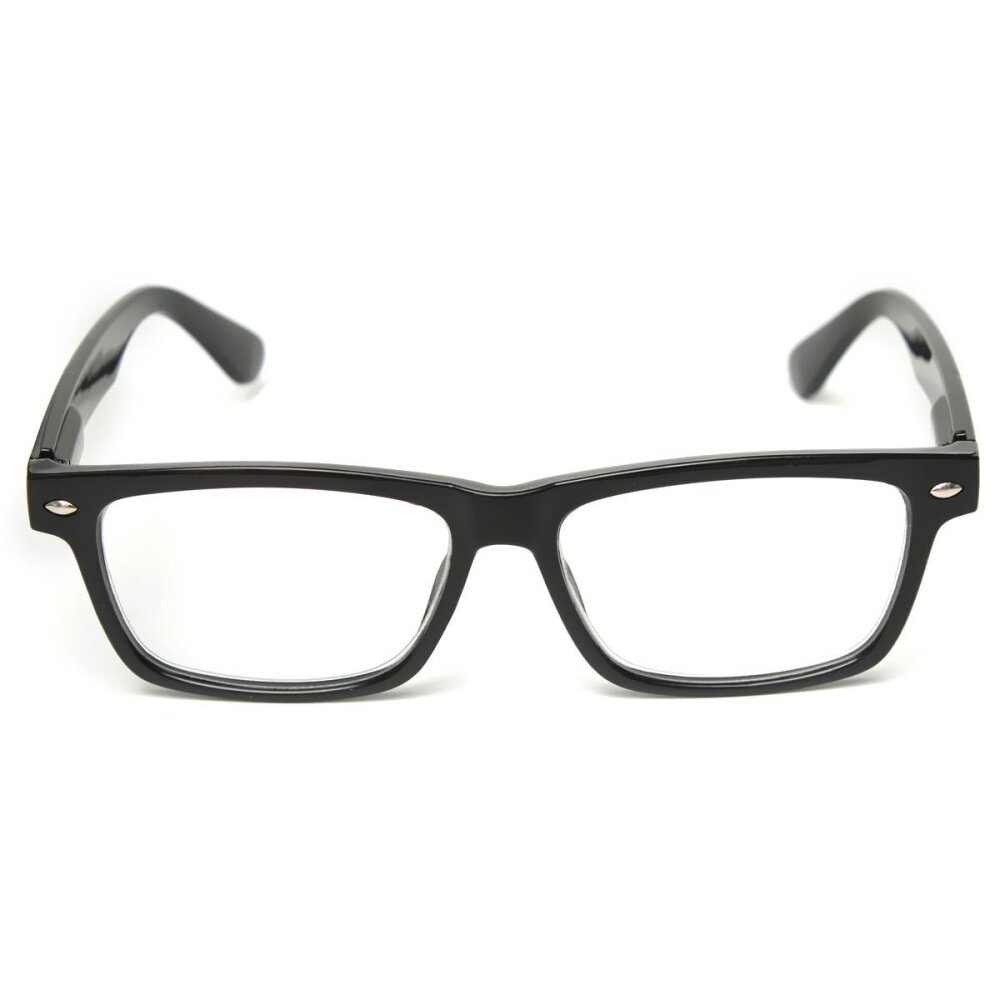 Men Women Light Presbyopic Reading Glasses Classic Black Border Reader Eyewear 4 0 .