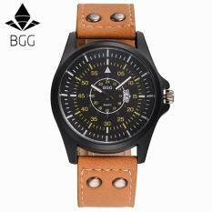 Free shipping Men's Leather Band Watches Business Sport Analog Quartz Date Wrist Watch