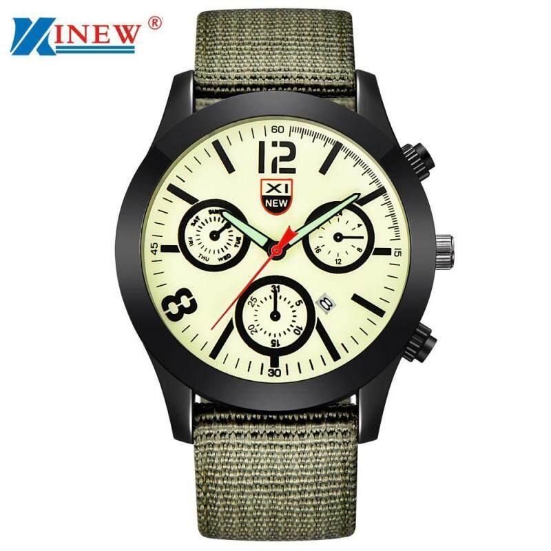 Mens Military Quartz Army Watch Black Date Luxury Sport Luminous Wrist Watch Green Malaysia