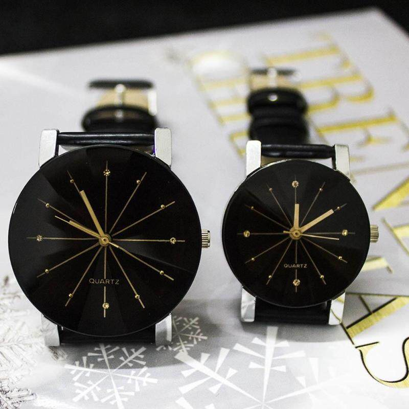 Men/Womens Simple Casual Style Couples Watch Malaysia