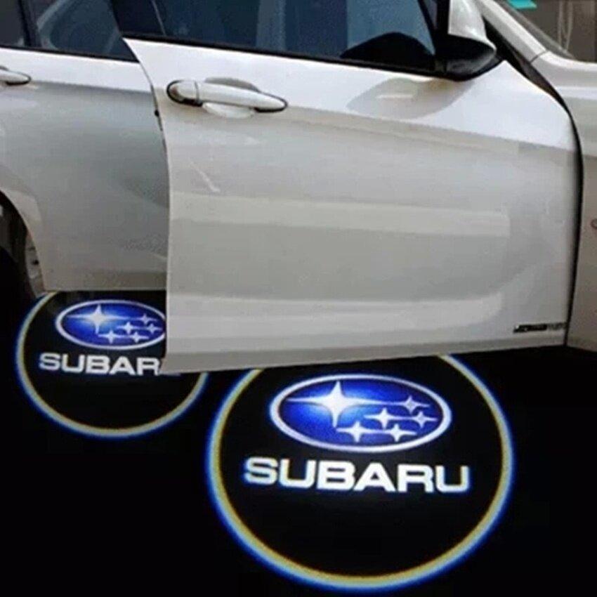 HUADE 2Pcs Car Door Projector Welcome Lights For (Subaru Brz)- Nodrilling Requiredza1111_19 -