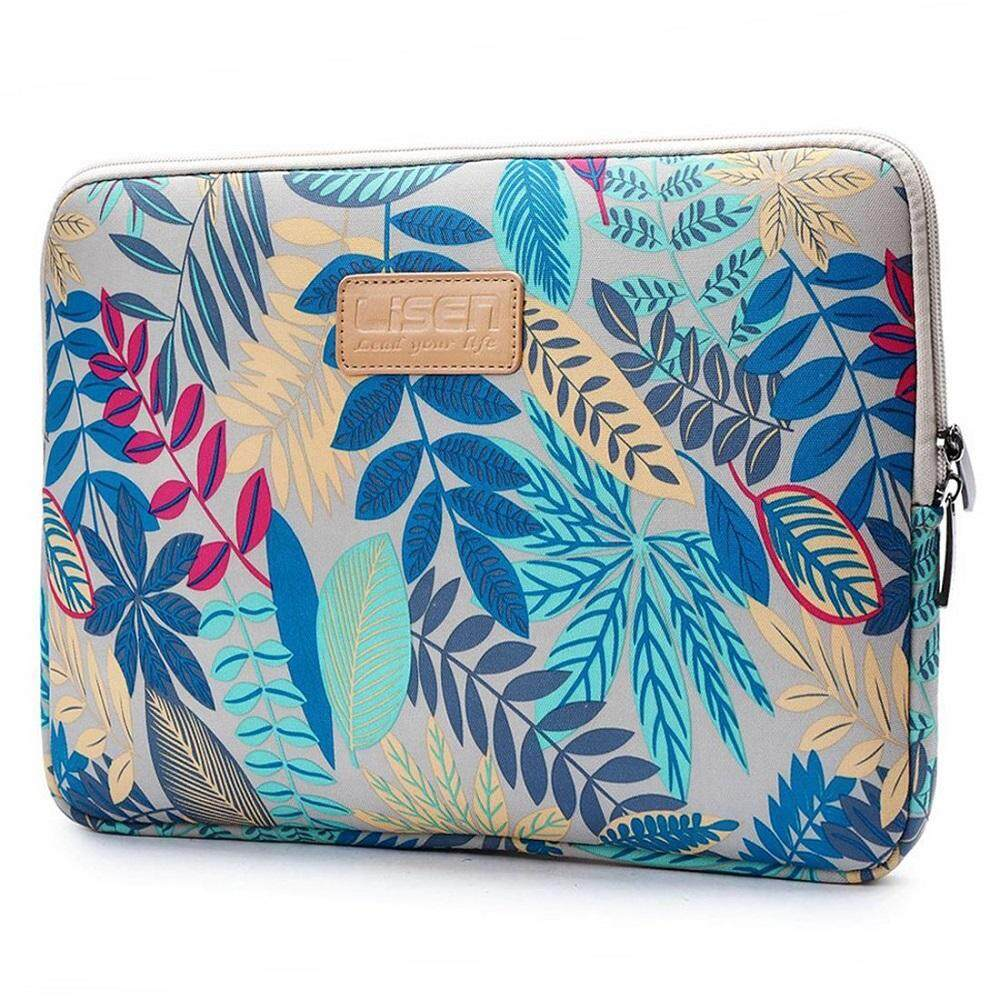 Miimall 11.6 Inch Laptop Sleeve Case Cover, Colorful Leaves Pattern Sleeve Bag Case For Ultrabook