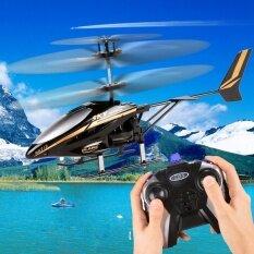 Mini Listrik Led Lampu Utama 2ch Rc Inframerah Pengendali Jarak Jauh Model Helikopter Mainan Dengan Pengendali Jarak Jauh By Etop Store.