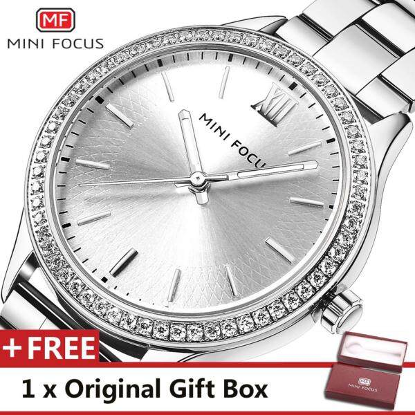 MINIFOCUS MINI FOCUS  MF0043L Top Luxury Brand Watch For women Fashion Woman Quartz Watches trend Wristwatch Gift For Female jam tangan wanita Malaysia