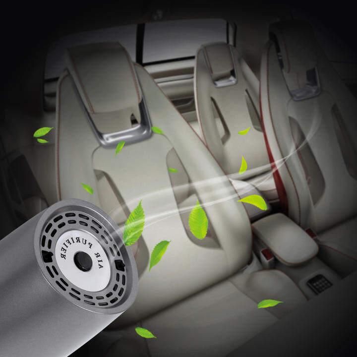 mini usb car home air ionic cleaner purifier filter ionizer freshener grey lazada. Black Bedroom Furniture Sets. Home Design Ideas