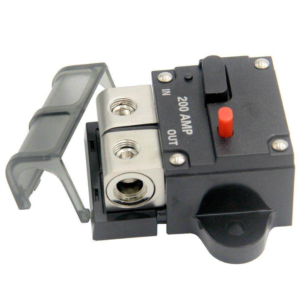 Miniature Cb-200a Breaker 12v 200 Amp Manual Switch Circuit Breakers Holder - Intl By Yiuu.