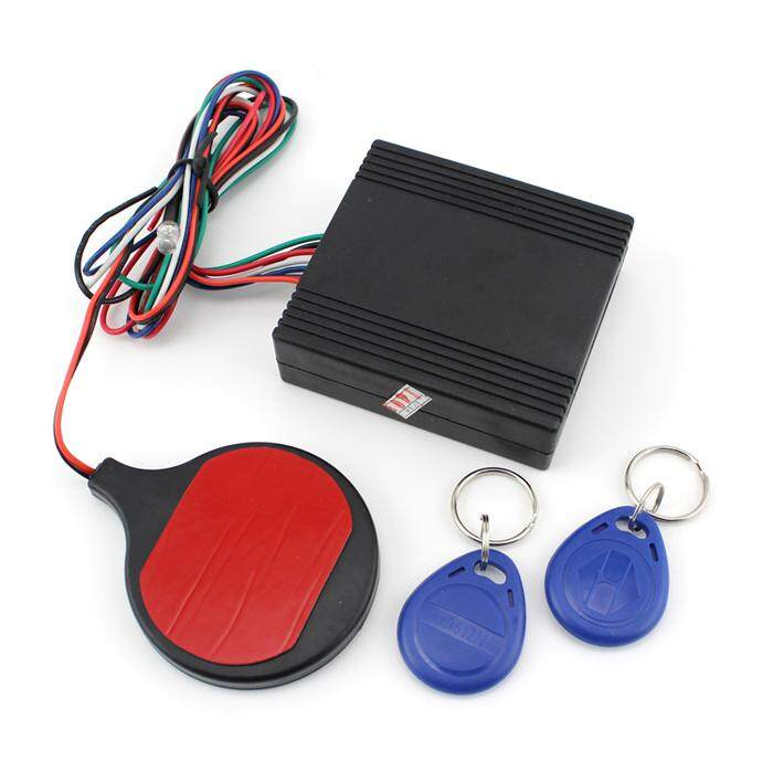 Motorcycle Bike IC card Alarm induction invisible lock Immobilizer Lock - intl